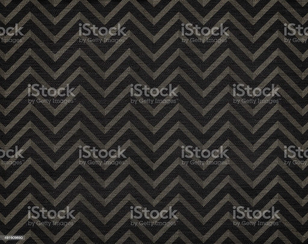 Classic chevron pattern background, grunge canvas texture, hi res vector art illustration