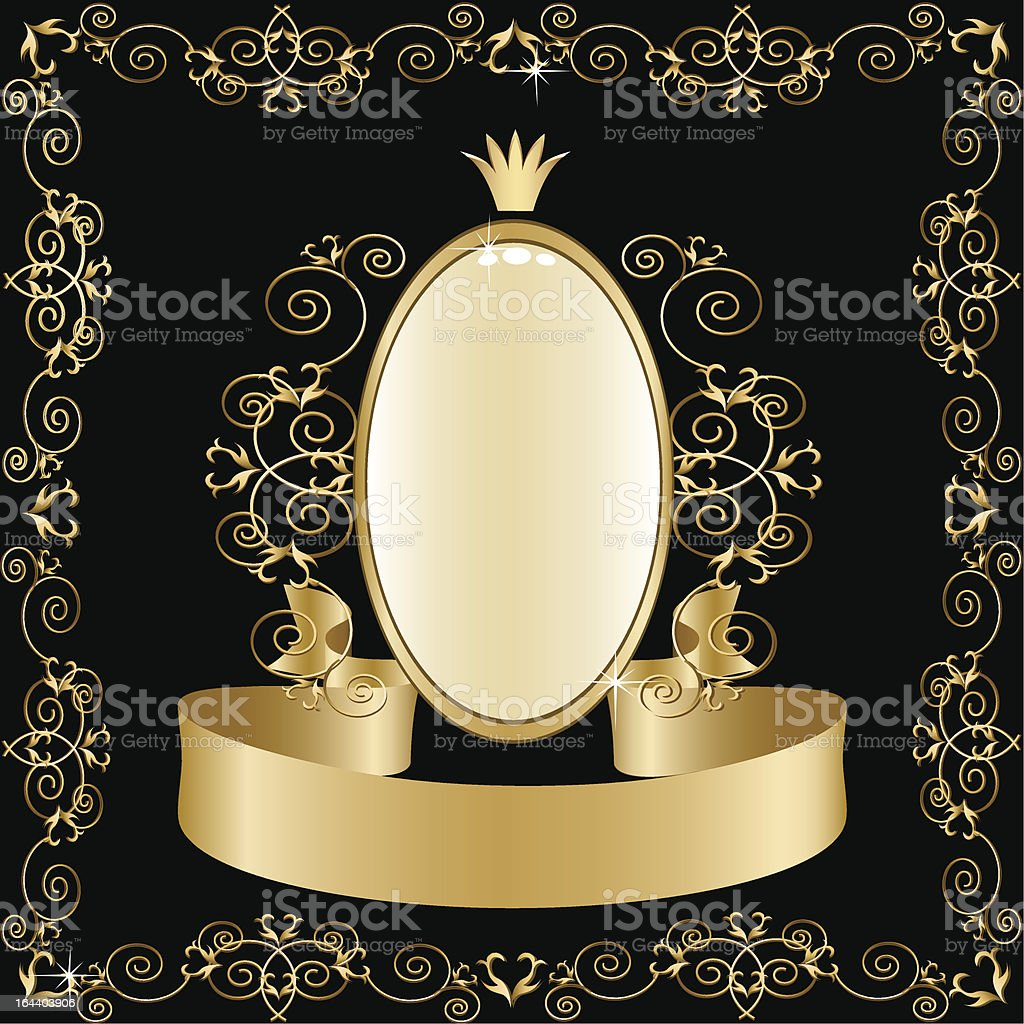 Classical background royalty-free stock vector art