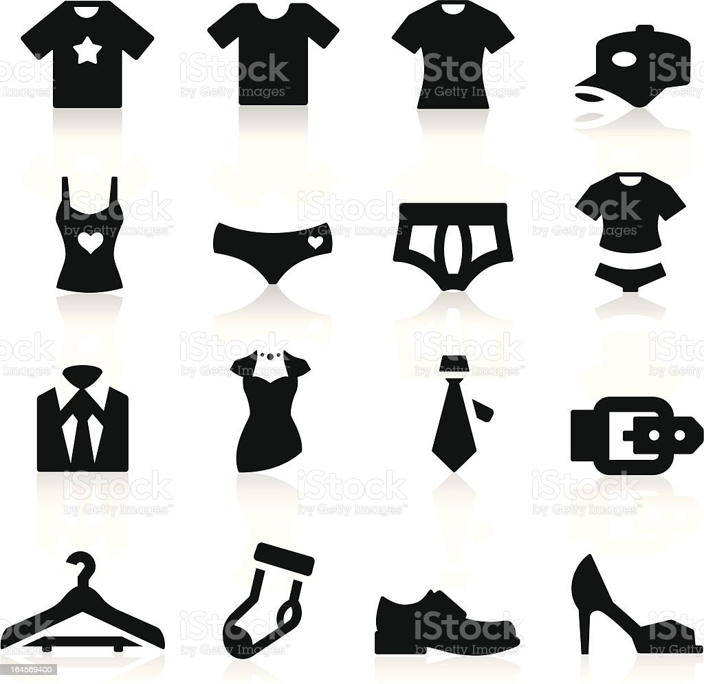 Clothes Icon vector art illustration