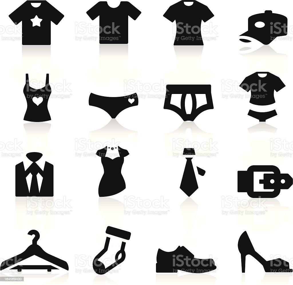 Clothes Icon vector art illustration