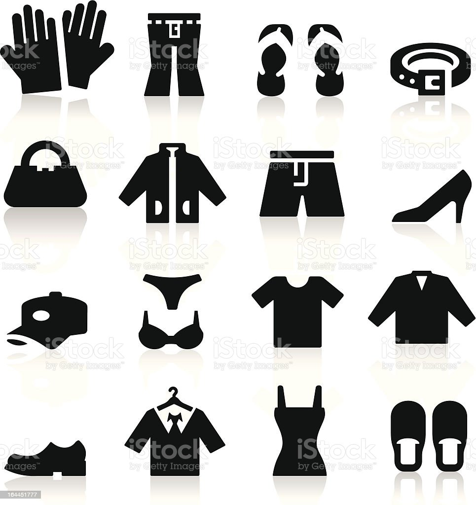 Clothing Store Icon vector art illustration