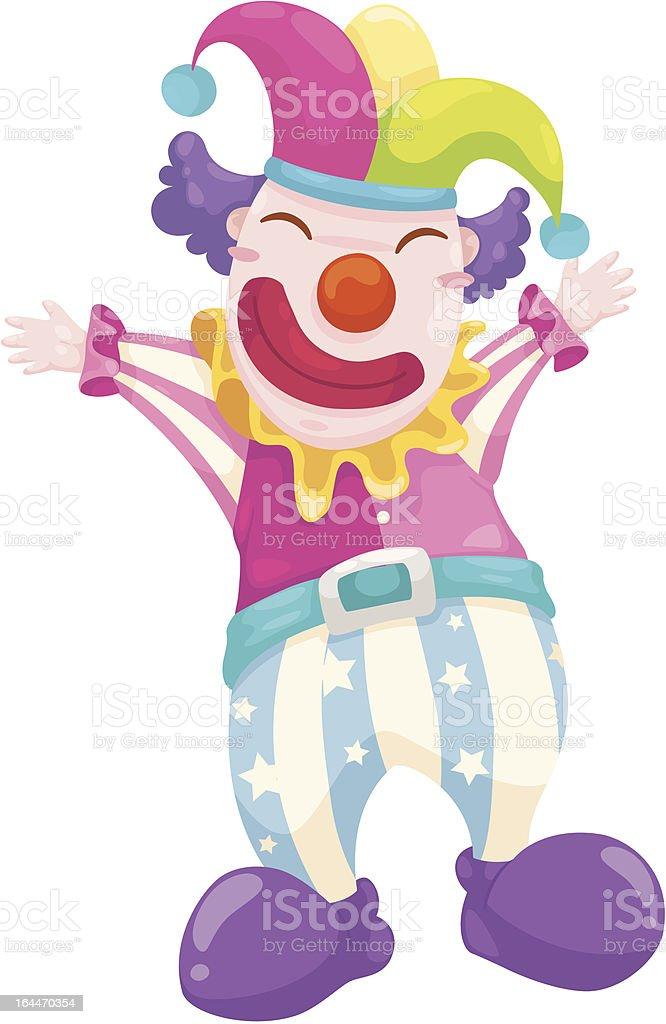 clown vector royalty-free stock vector art