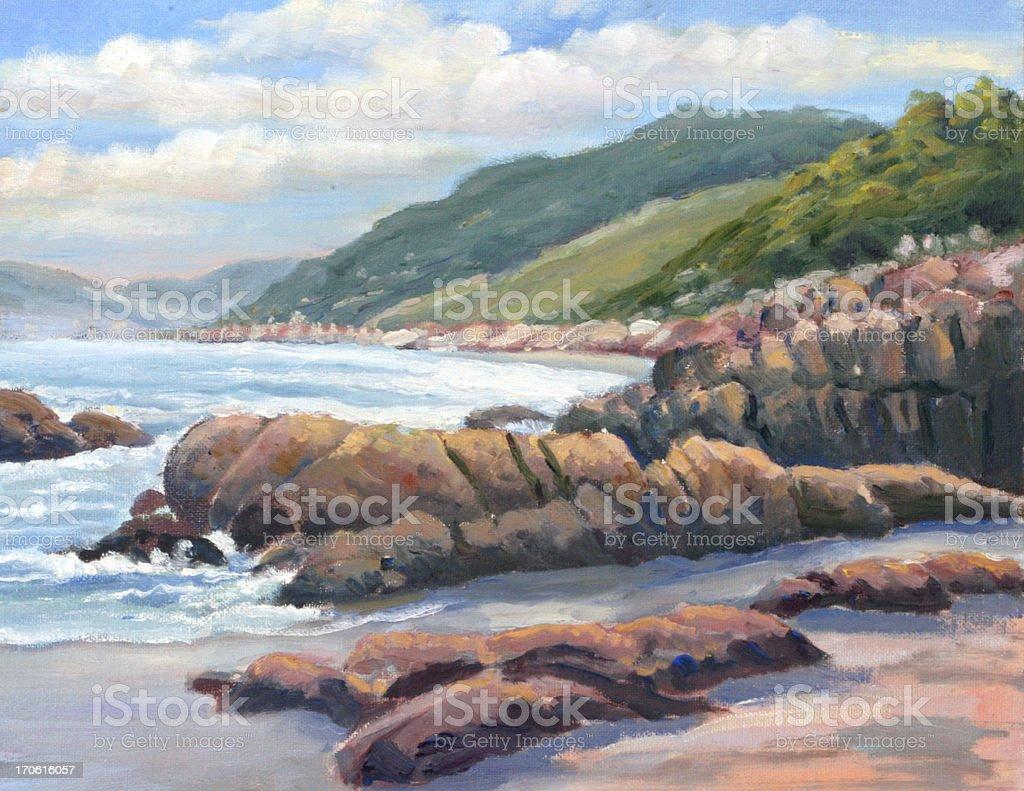 Coast royalty-free stock vector art