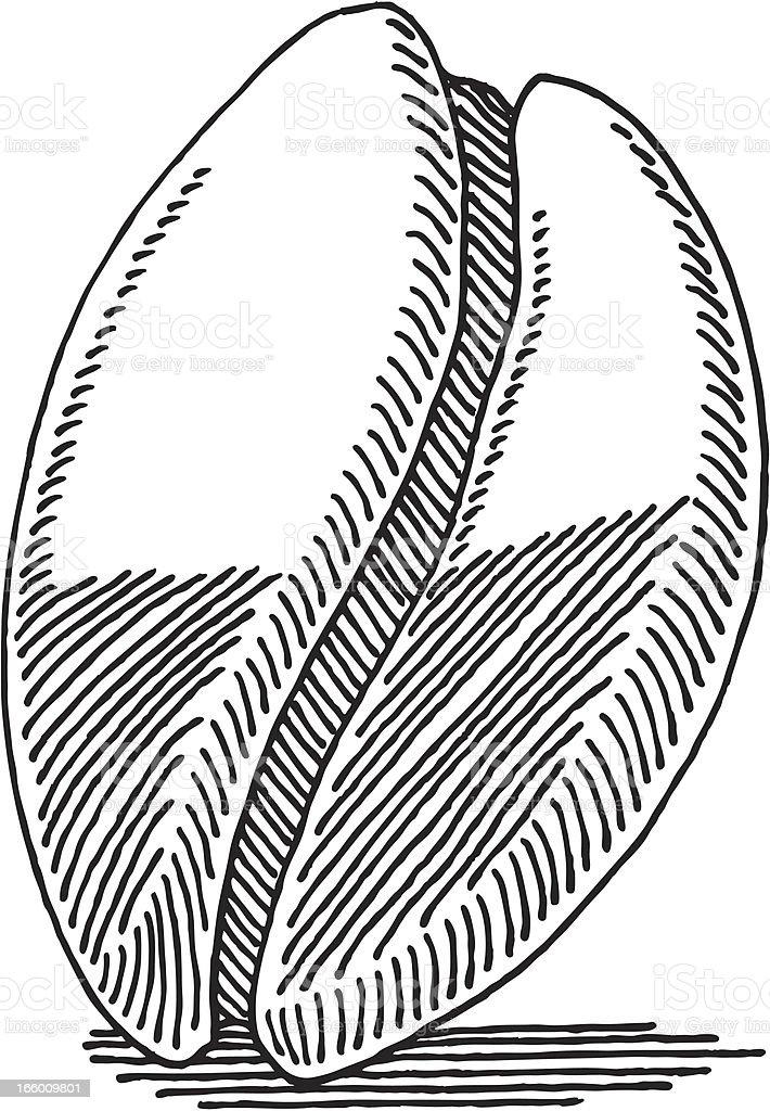 Resultado de imagen para grano de cafe dibujo