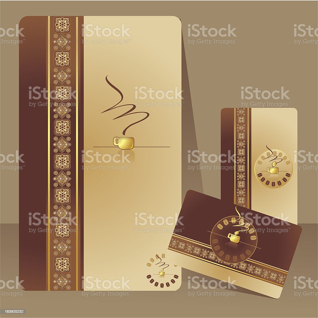 coffee menu, card royalty-free stock vector art