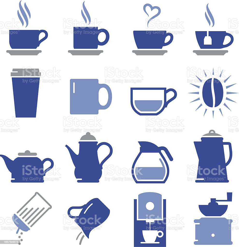 Coffee Shop Icons - Pro Series vector art illustration