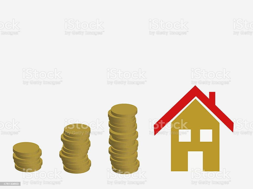 coins royalty-free stock vector art