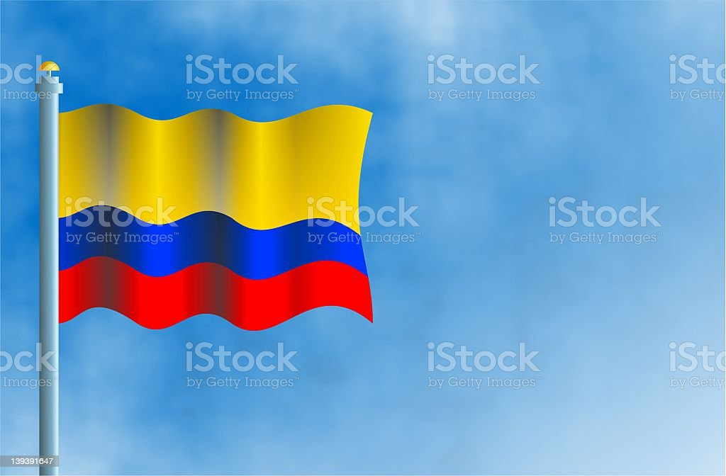 Colombia royalty-free stock vector art