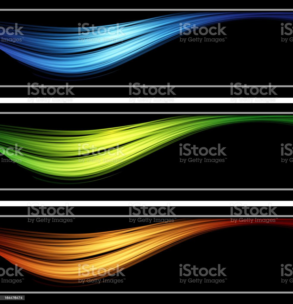 color abstract banner royalty-free stock vector art