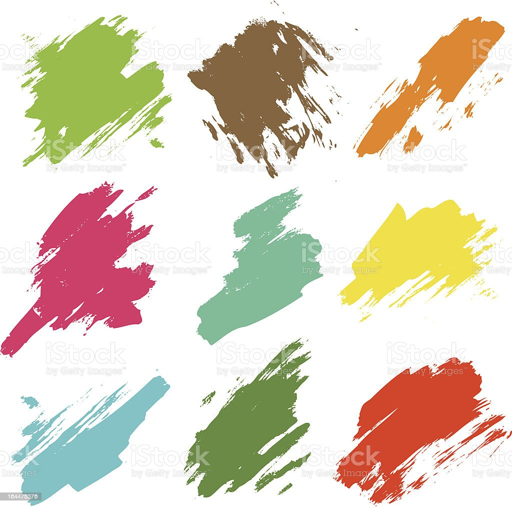 Color Abstracts royalty-free stock vector art