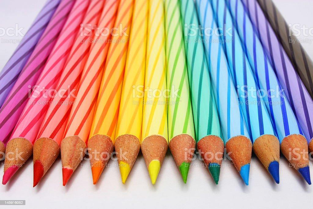 Color Pencil vector art illustration