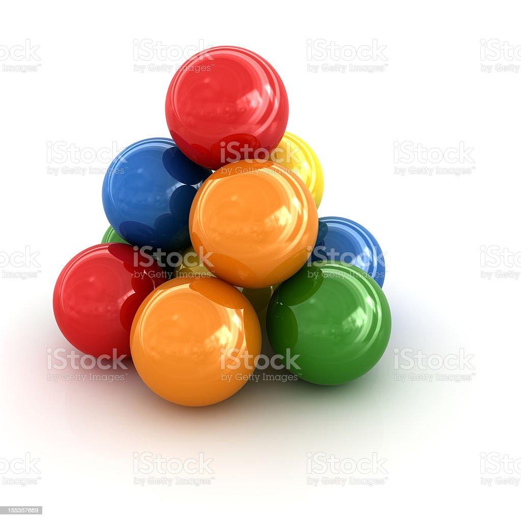Colorful Balls royalty-free stock vector art