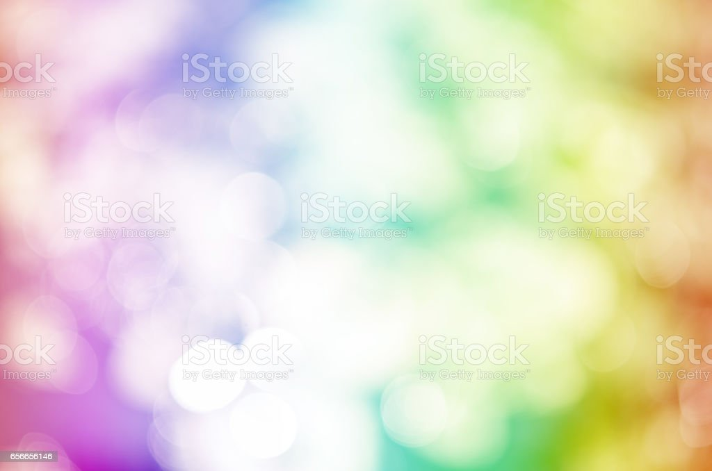 colorful bokeh glitter defocused lights vector art illustration
