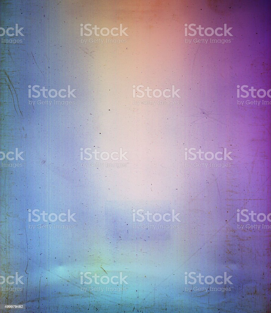 Colorful Distort Grunge Texture Vignette Stock Image Background vector art illustration