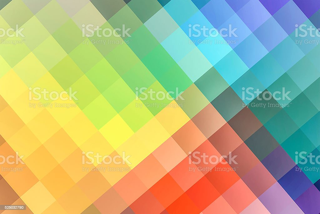Colorful geometric background stock photo