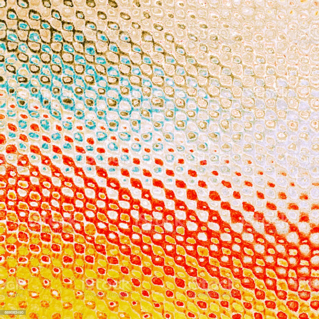 colorful mosaic halftone background vector art illustration