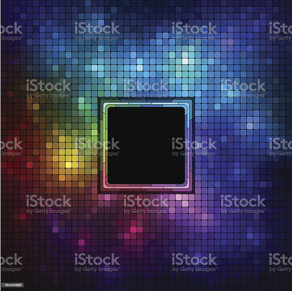 Colorful Mosaic royalty-free stock vector art