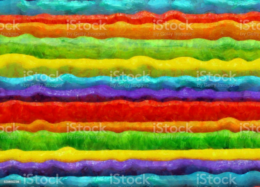 Colorful Striped Painting Background vector art illustration