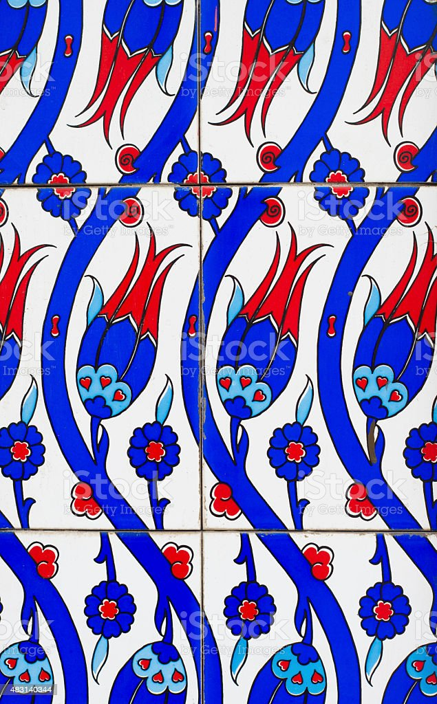 colorful tiles vector art illustration