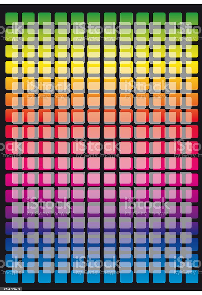 Coloured grid royalty-free stock vector art