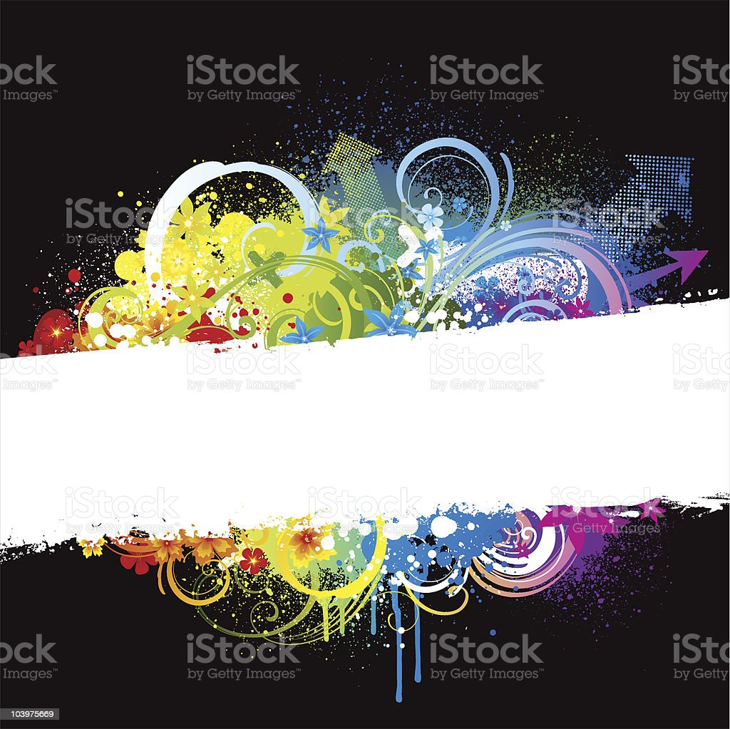 Colourful explosion royalty-free stock vector art