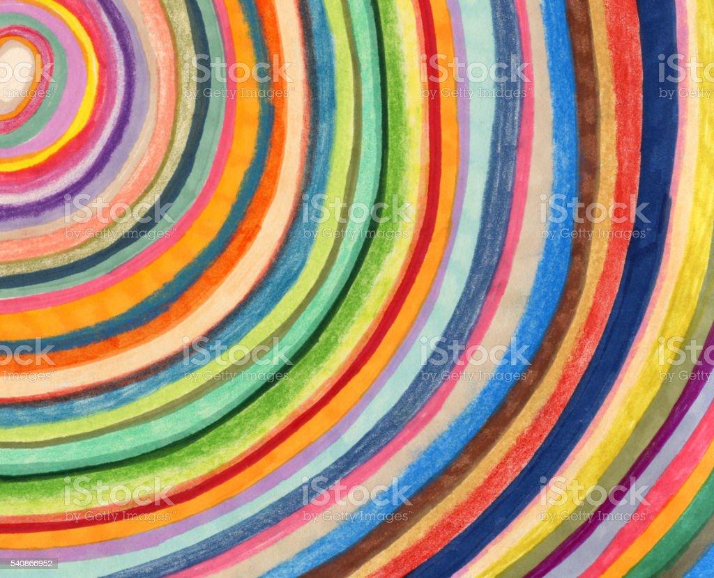 Colourful stripy background pattern vector art illustration