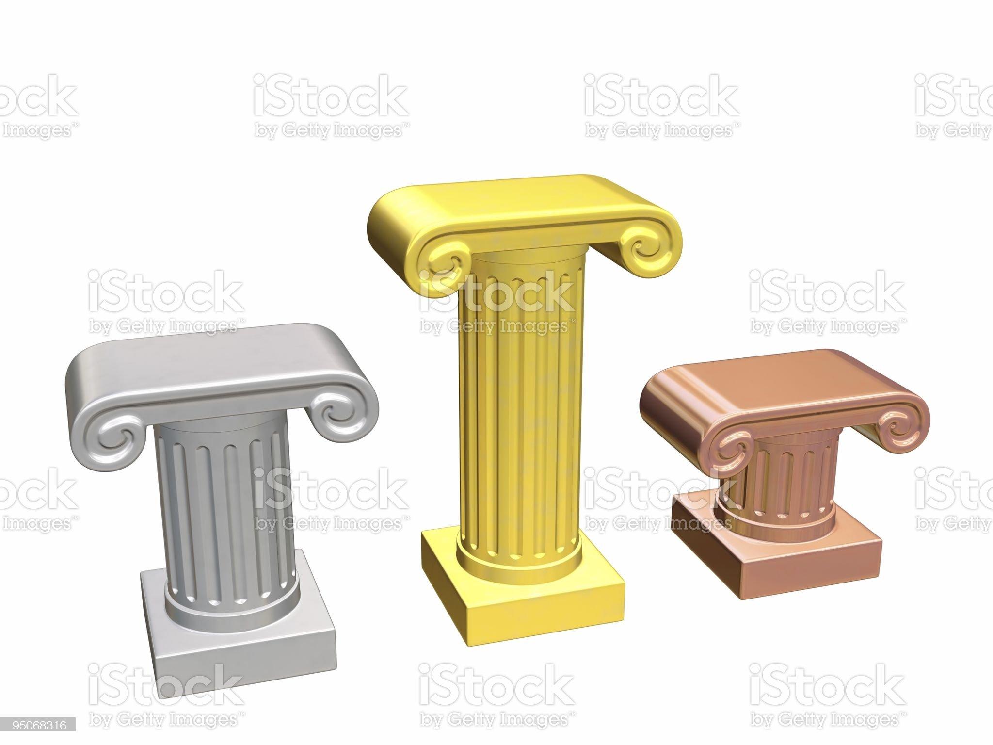 column pedestal royalty-free stock vector art