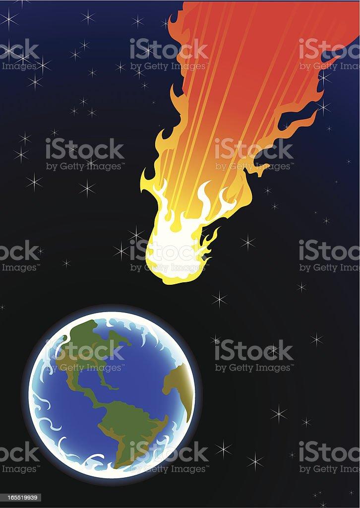 comet royalty-free stock vector art