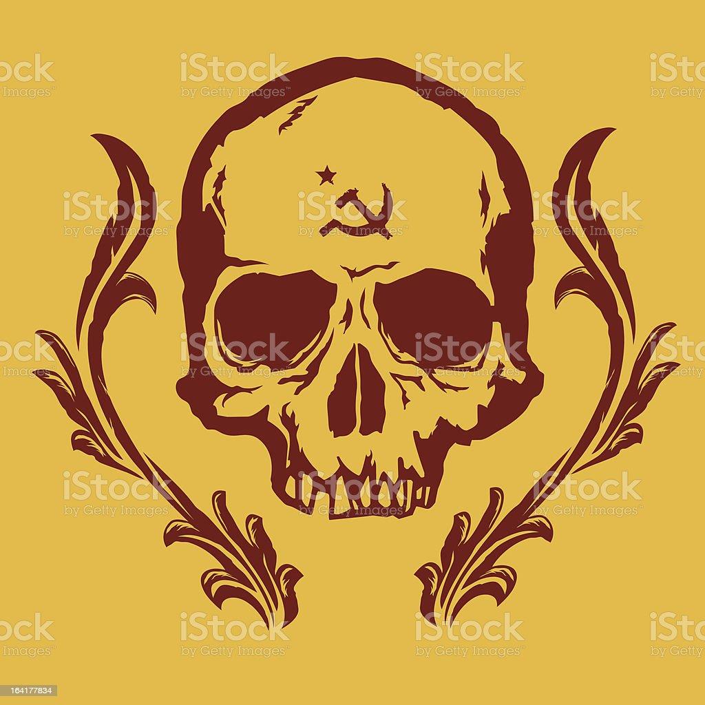 commie deth royalty-free stock vector art