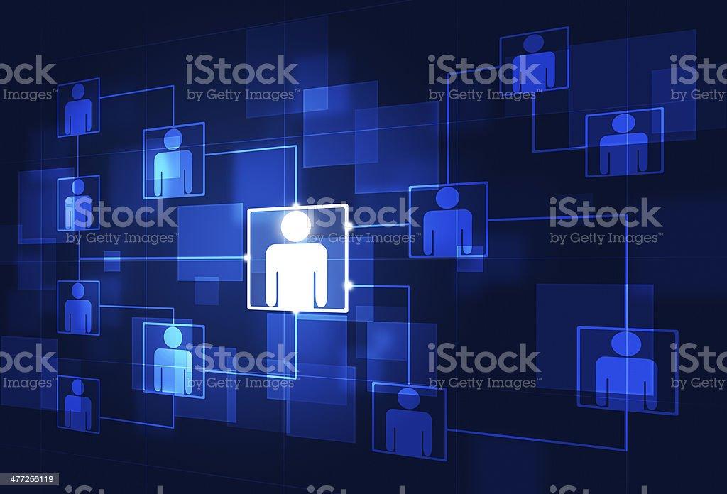 Communication Flow Chart Stock Vector Art 477256119 Istock