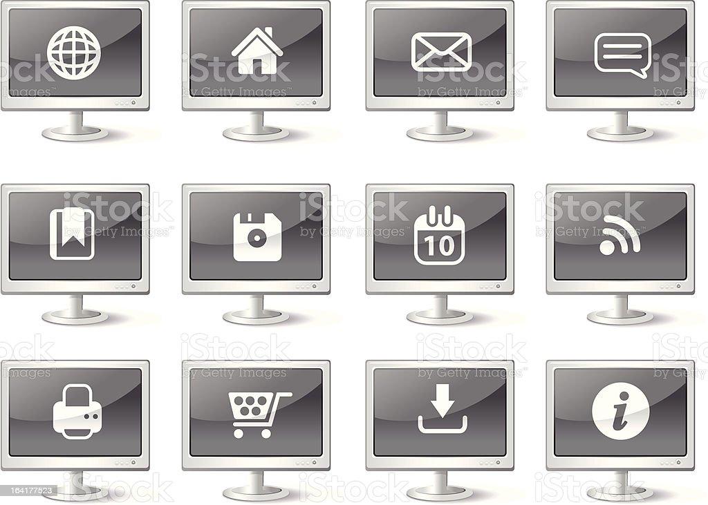 Computer Web Icons royalty-free stock vector art