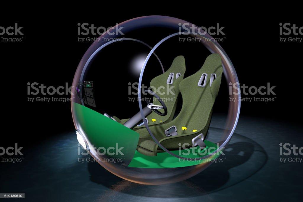 Concept Automobile vector art illustration
