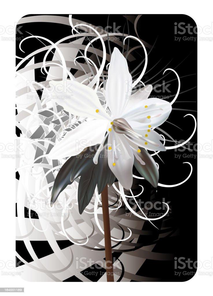 Concept flower illustration vector art illustration