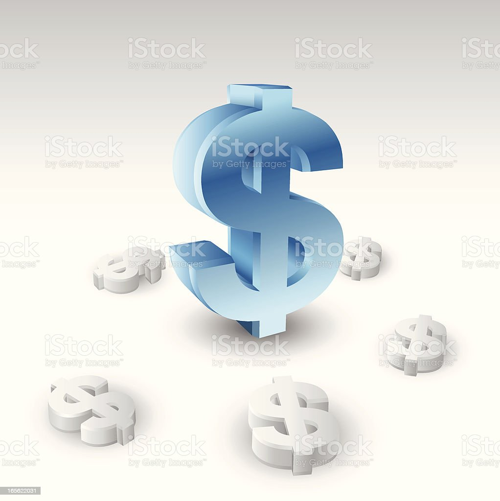 Concepts - Currency royalty-free stock vector art