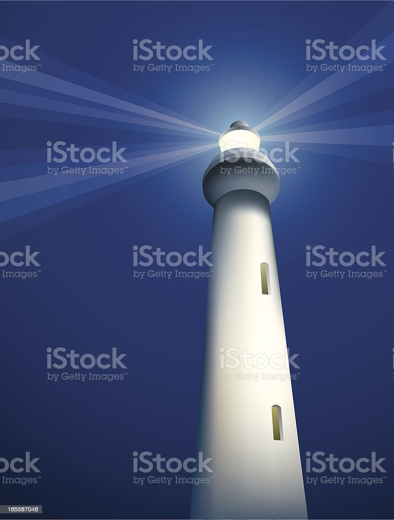 Concepts - Lighthouse royalty-free stock vector art