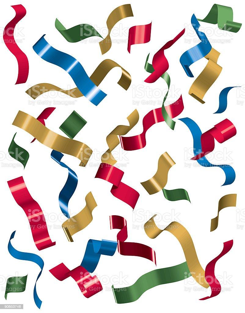 confetti 1 royalty-free stock vector art