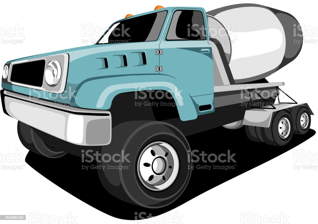 Construction Vehicle. royalty-free stock vector art