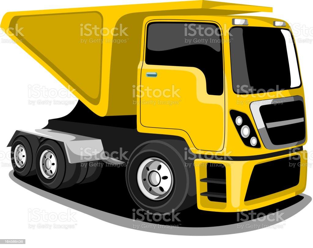 Construction Vehicle. royalty-free stock vector art