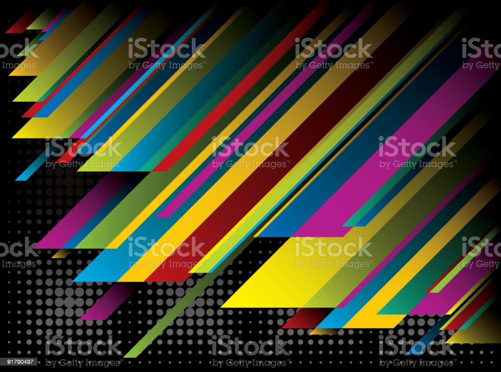 Contemporary Background Design royalty-free stock vector art