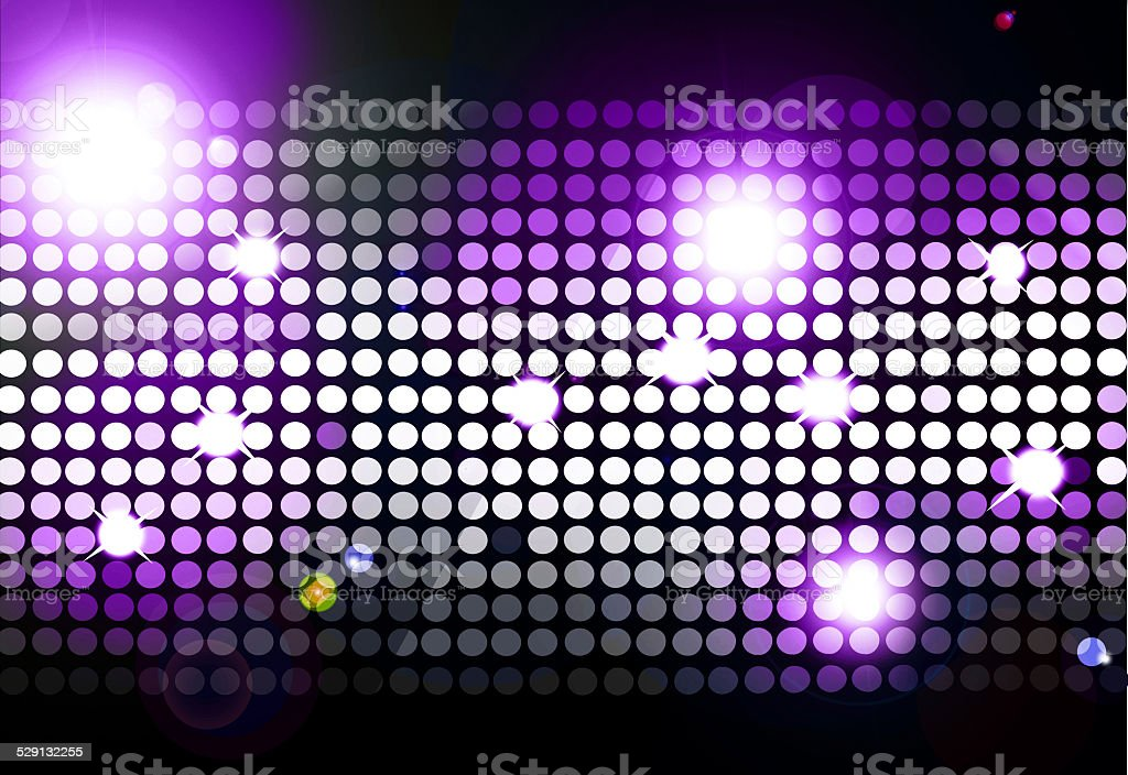 Cool disco background vector art illustration