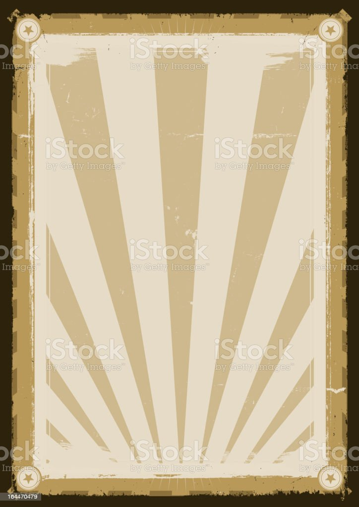 Cool Vintage Background Poster royalty-free stock vector art