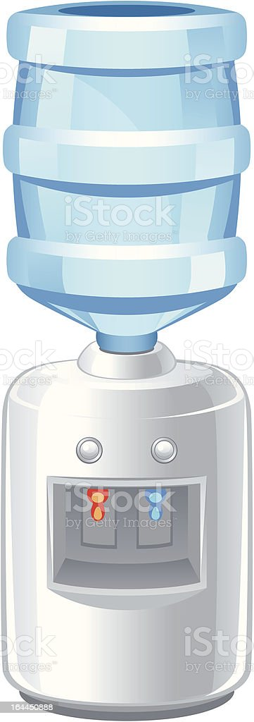 Cooler vector art illustration