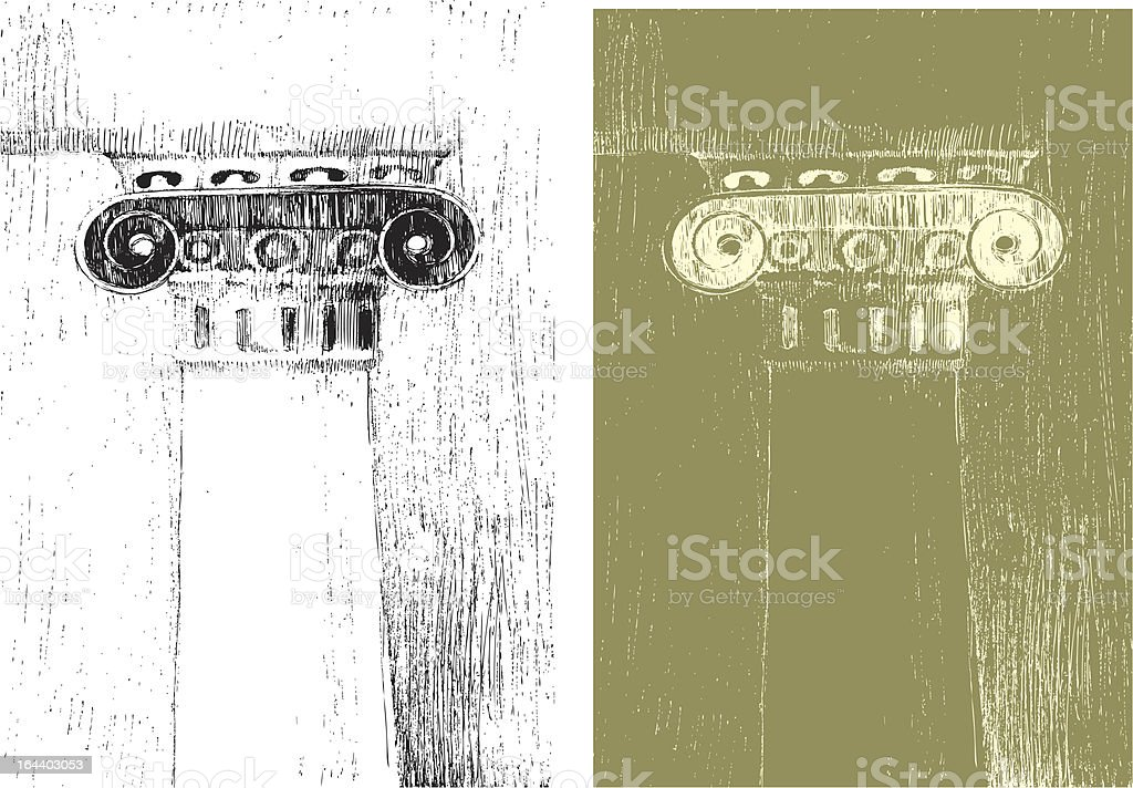 corinthian column royalty-free stock vector art