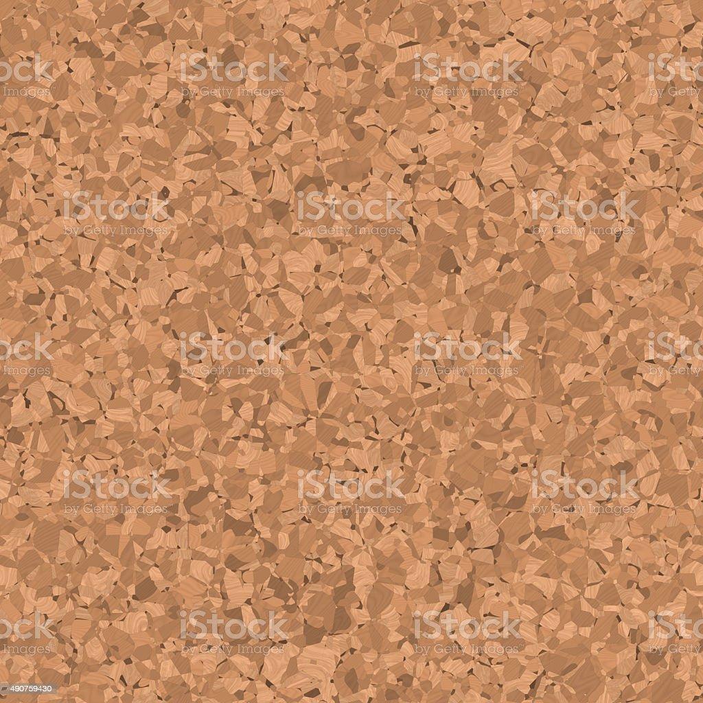 Corkboard seamless generated texture vector art illustration