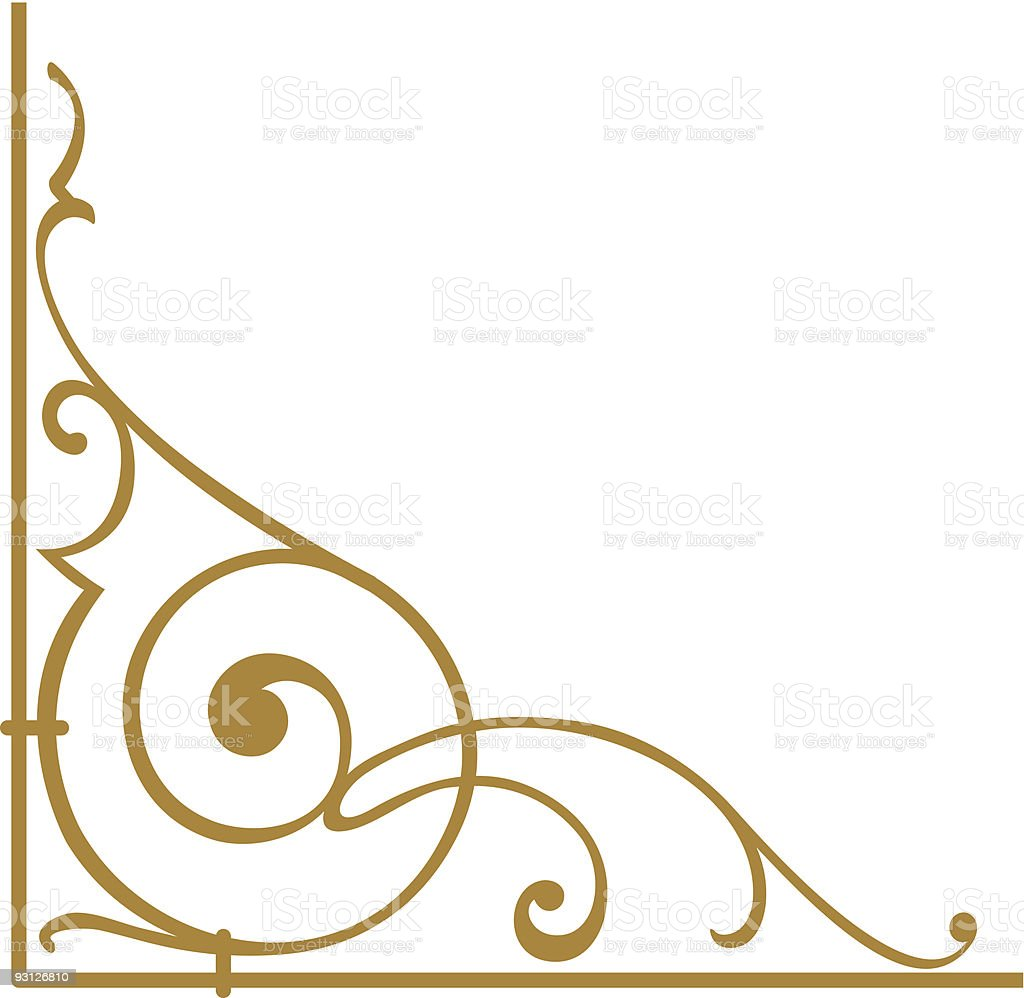 corner1-7104 royalty-free stock vector art