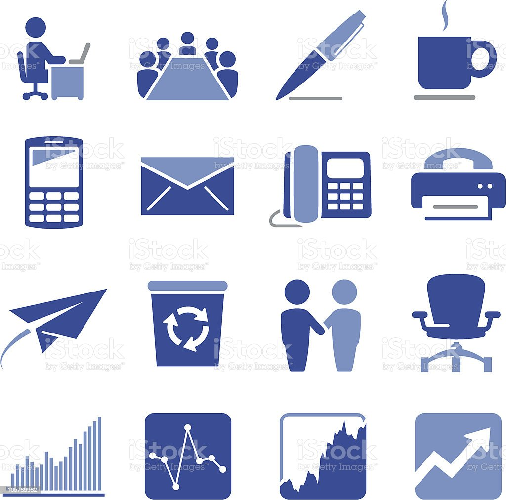 Corporate Icons - Pro Series royalty-free stock vector art