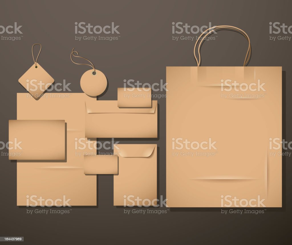 Corporate Templates. royalty-free stock vector art
