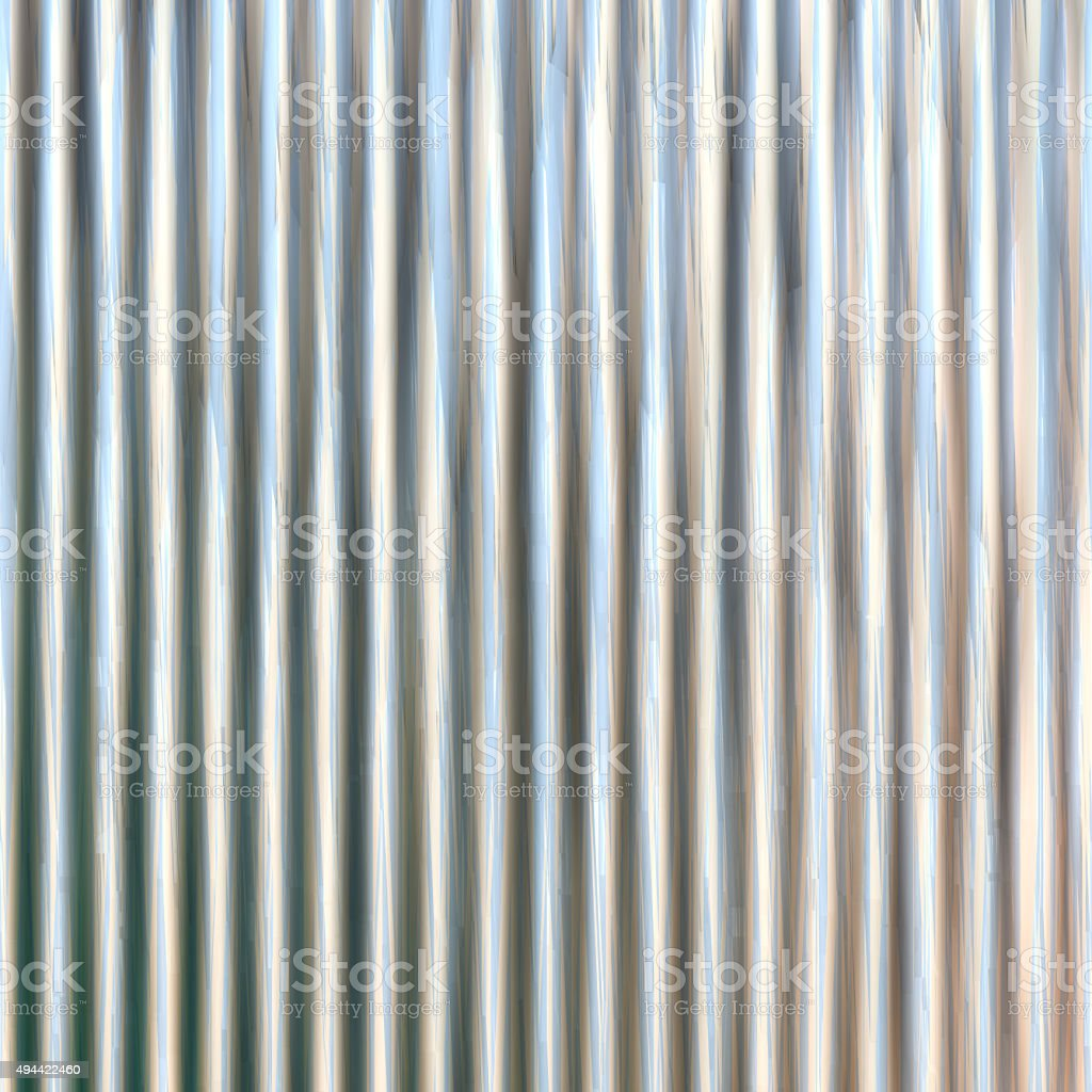 Corrugated iron sheet generated texture vector art illustration