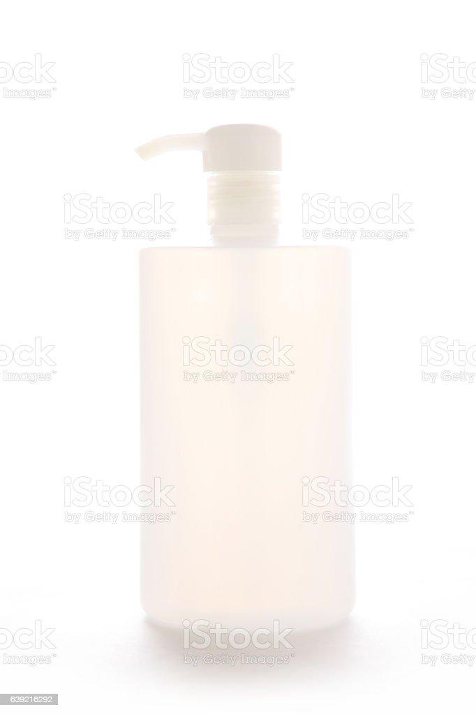 Cosmetic bottle vector art illustration