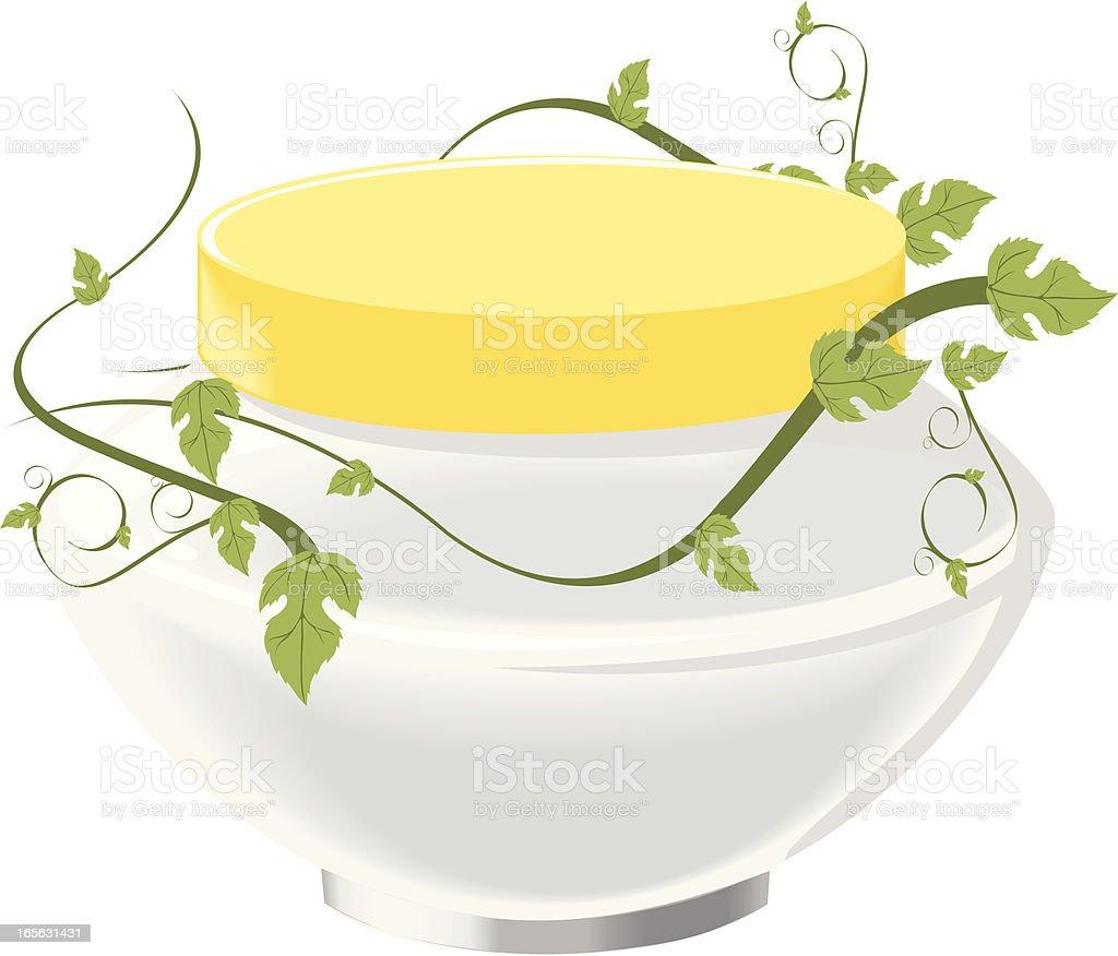 Cosmetics cream royalty-free stock vector art